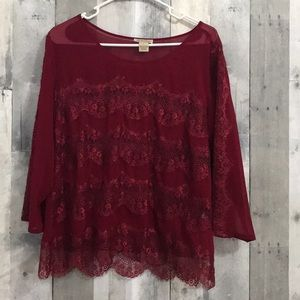 Lucky Brand women's size large blouse